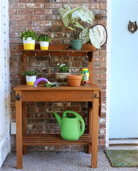 potting bench world market hi sugarplum potting or party this bench is busy