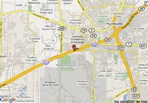 map of marriott huntsville huntsville