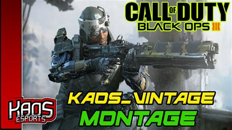 Kaos Call Of Duty Call Of Duty 37 black ops 3 kaos vintage montage
