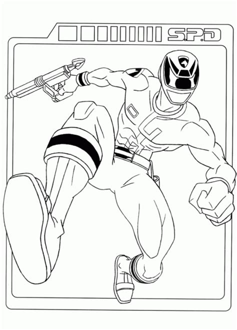 power rangers dino thunder coloring pages coloring home