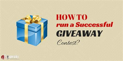 How To Run A Facebook Giveaway - how to run a successful giveaway caign on facebook
