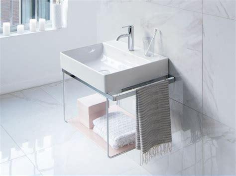 duravit console lavabo a consolle rettangolare durasquare lavabo a
