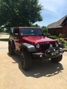 matte maroon jeep black jeep wrangler 2 door 4 inch lift 35 inch tires