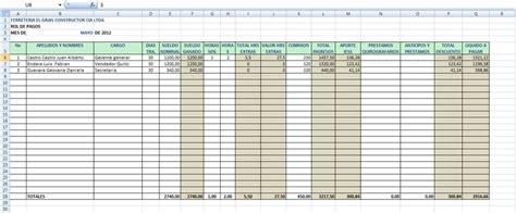 sueldo basico p empleado publico 2016 ionegoldcom formacion orientacion laboral al trabajo nomina o rol de pago
