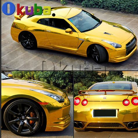 Folie Gold Auto by Kopen Wholesale Chrome Gold Auto Folie Uit China