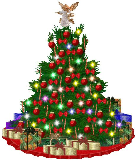 christmas day animated christmas tree christmas tree