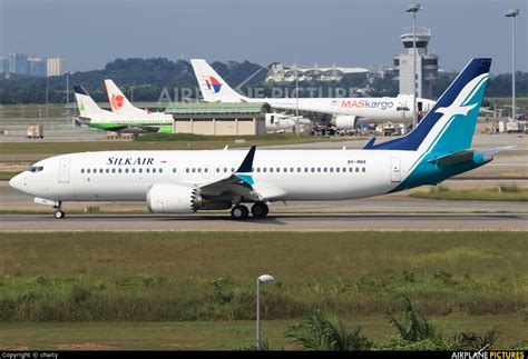 Of Michigan Mba In Aviation by 9v Mba Silkair Boeing 737 8 Max At Kuala Lumpur Intl