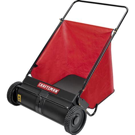 craftsman 71 240361 7 cu ft push lawn sweeper shop