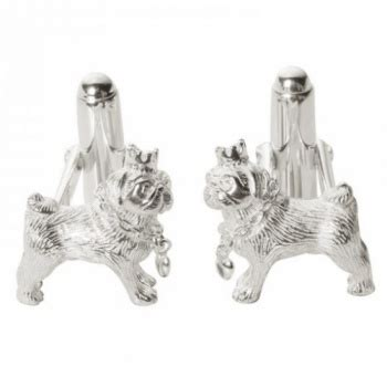 pug cufflinks sterling silver pug sterling silver cufflinks with chrome box