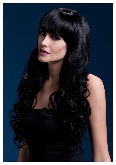 from in black styleable fever isabelle black wig