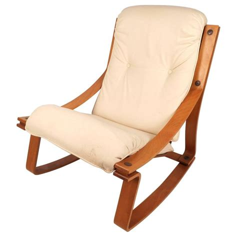 mid century rocking chair stunning mid century modern rocking chair by westnofa for sale at 1stdibs