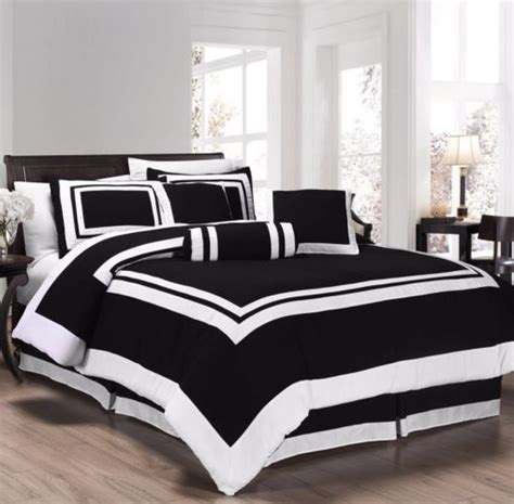 black and white queen comforter sets elegant black and white bedroom ideas luxcomfybedding