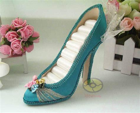 high heel ring holder turquoise high heel shoe jewelry ring holder display