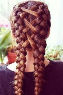 Different Types Of Braids For Medium Hair by Best 25 Braided Hairstyles Ideas On