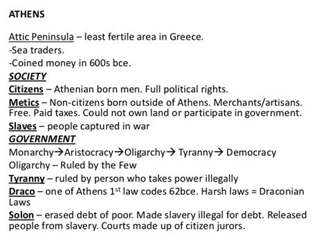 Sparta Essay by Intro To Athens Sparta Notes 2
