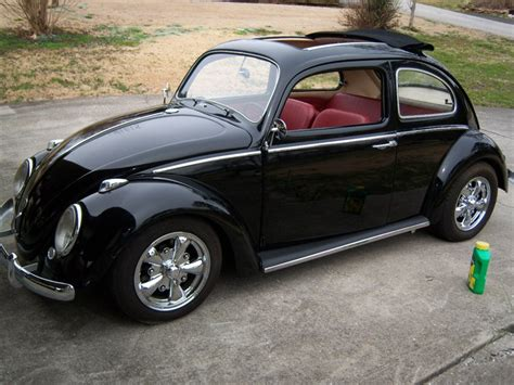 volkswagen beetle 1960 custom 1960 vw bug cloth sunroof 1915cc dual dellorto carbs