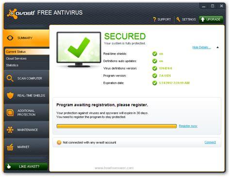 Antivirus Avast Security avast 4 8 1229 professional edition home edition working