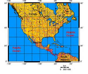 maps usa map with latitude and longitude