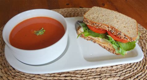 Home Decor Planner soup and sandwich duo