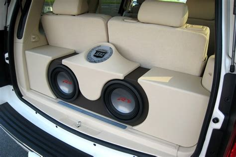 Car Make Types by Car Stereo Different Types Of Subwoofer Enclosures