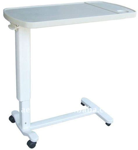 hospital bed tables ag obt002 ce iso adjustable hospital bed tray table