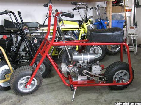 custom doodlebug mini bike vintage style azusa frame
