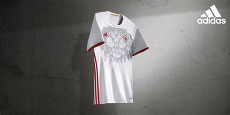 Dijamin Jersey Rusia Away Official russia 2016 away kit by adidas official