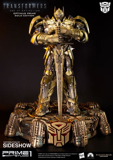 Transformers Gold transformers optimus prime edition gold version