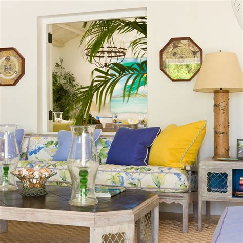 palm tree living room ideas sorbet yellowbetterdecoratingbible