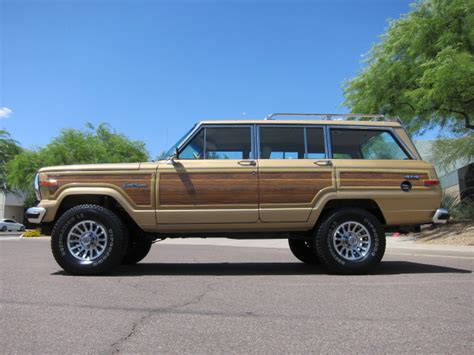 1987 jeep wagoneer classic cars of the 1980 s 1987 jeep grand wagoneer