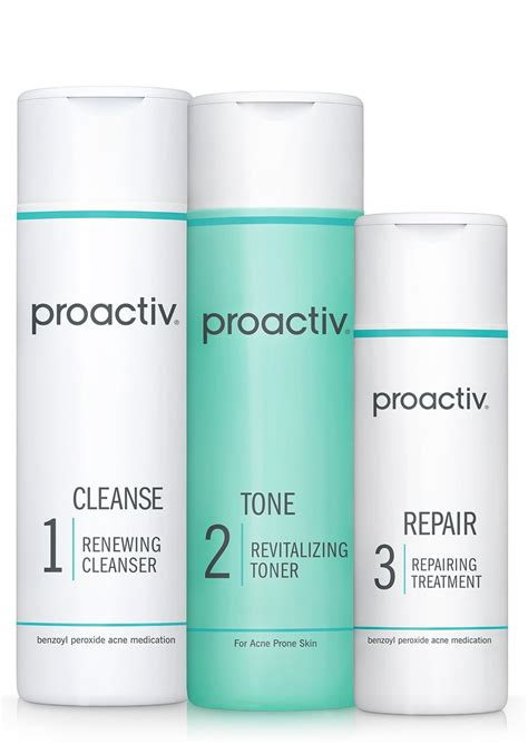 Detox For Acne The Acne 3 Day by Proactiv Green Tea Moisturizer