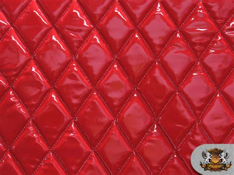 where can i find upholstery fabric vinyl quilted foam glossy red fabric w 3 8 quot foam backing
