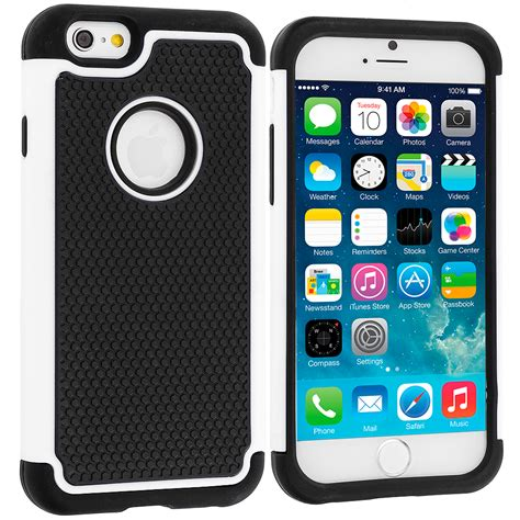 Iphone 6 Plus 6s Plus Cover Armor Baby Skin 1255 1 black white hybrid rugged armor protector