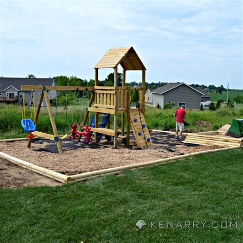 building a backyard playground diy backyard playground outdoor furniture design and ideas