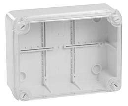 cassette elettriche esterne scatola di derivazione esterna elettrocanali 150x110x70 mm