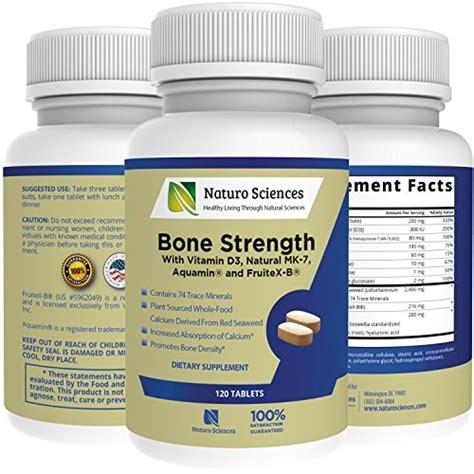 fruitex b supplement naturo sciences bone strength contains vitamin d3