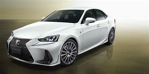white lexus is 250 2017 lexus is trd 2017