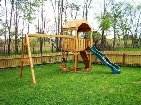 playsets for small backyards backyard wooden playset backyard playsets plans