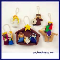 nativity ornaments pdf pattern baby jesus mary joseph