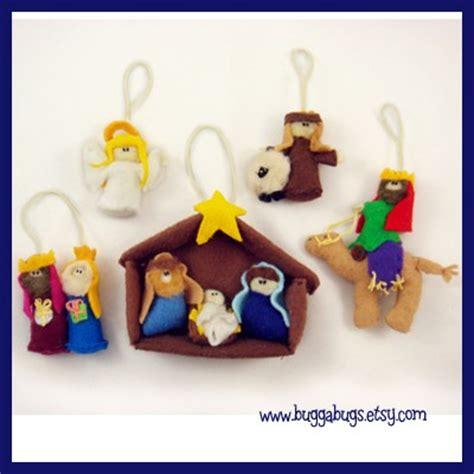 free pattern for felt nativity set nativity ornaments pdf pattern baby jesus mary joseph