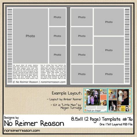 free digital scrapbooking template scrapbooking
