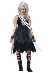 undead halloween costumes teen zombie prom queen costume