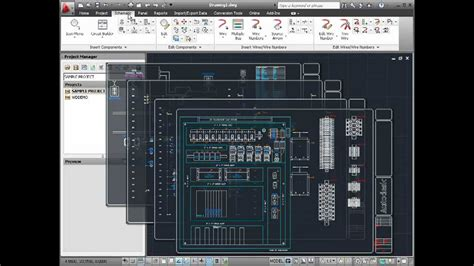 AutoCAD Electrical 2013 Overview   YouTube