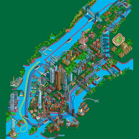 map of nyc attractions map of nyc tourist attractions sightseeing tourist tour