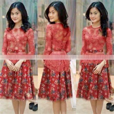 Model Baju Mini Dress Terkini Dan Murah Edward Ab baju mini dress pendek kebaya batik modern terbaru murah