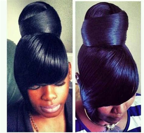 how to do a swoop bang on african american hair swoop bang black hairstyles hair