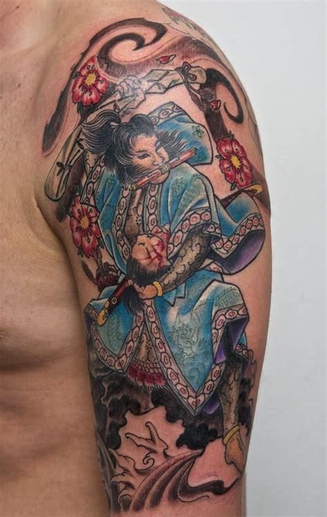 tattoo gallery samurai samurai tattoo on half sleeve by graynd tattooimages biz