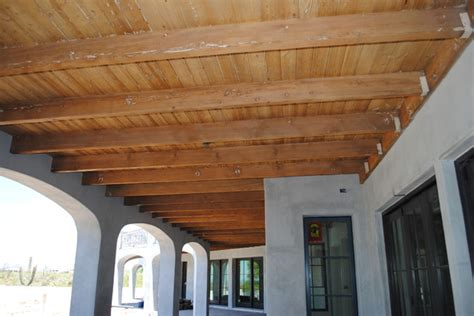 exposed ceiling beams exposed ceiling with rustic beams traditional phoenix
