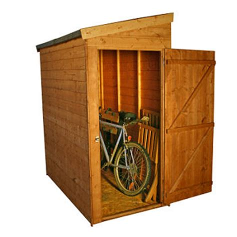 Pent Shed 6 X 3 by Installed 6 X 3 Tongue And Groove Pent Shed No Front