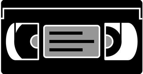 cassette vhs free vector graphic cassette vhs vcr